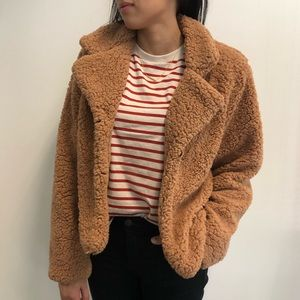 Jackets & Blazers - Fluffy Teddy Bear Fleece Jacket